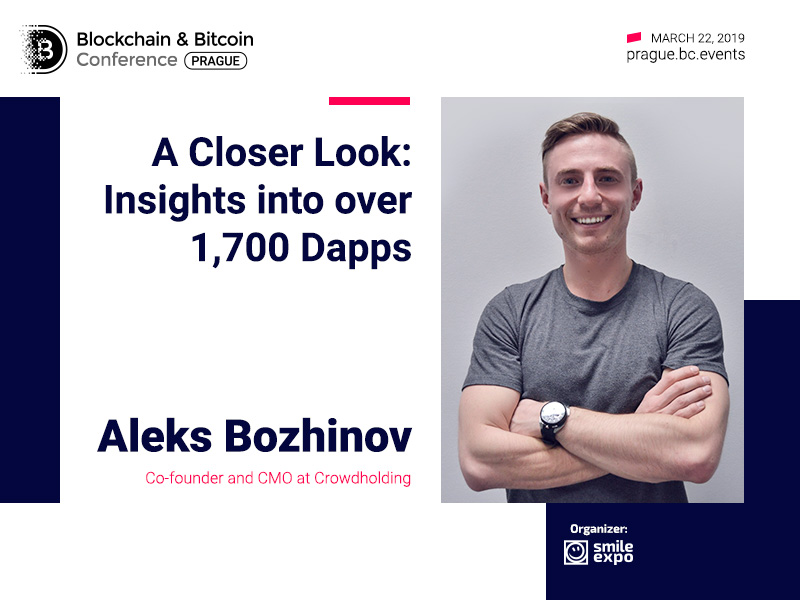 Market of blockchain apps in 2019. Report from Aleks Bozhinov, Crowdholding