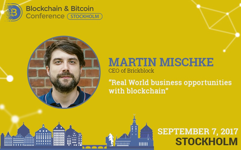 Martin Mischke: blockchain opportunities and real estate market