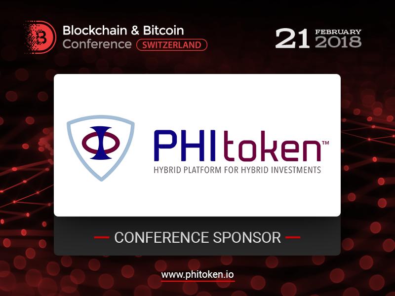 Meet Sponsor of Blockchain & Bitcoin Conference Switzerland: PHI Token, innovative investing platform!