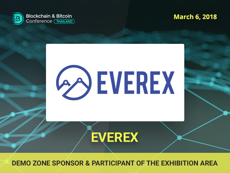 Meet Sponsor of Blockchain & Bitcoin Conference Thailand: Everex
