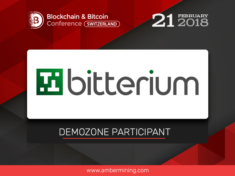 Meet the participant of the exhibition area – supplier of miners Bitterium