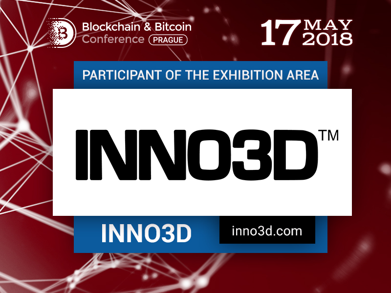 Mining equipment manufacturer Inno3D to show its gadgets at Blockchain & Bitcoin Conference Prague