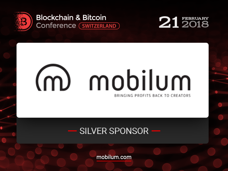 Mobilum, a blockchain platform for video games industry, will be a Silver Sponsor of Blockchain & Bitcoin Conference Switzerland