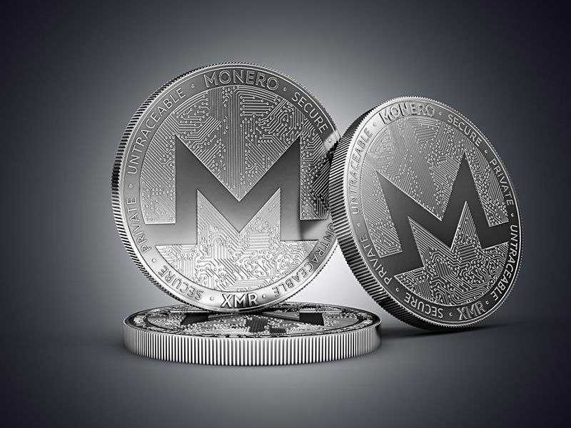 Monero cryptocurrency grows in price and ranks among top 10 according to Coinmarketcap