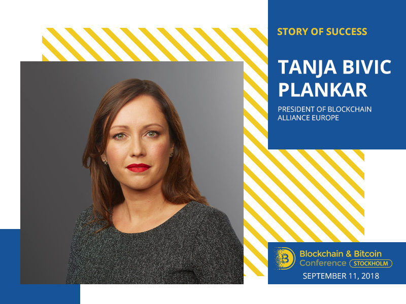 """My Ambition Is to Communicate Topics That Matter"" – The Story of Tanja Bivic Plankar, President at Blockchain Alliance Europe"