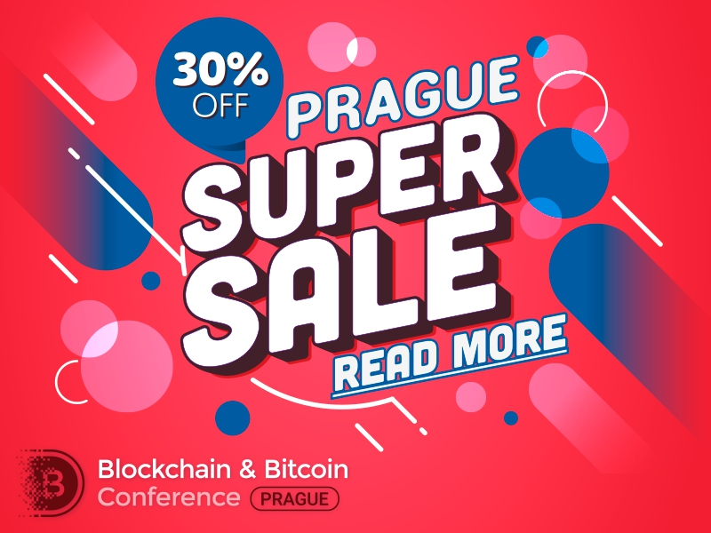 Fall upon innovations! Only 50 tickets with a 30% discount to Blockchain & Bitcoin Conference Prague