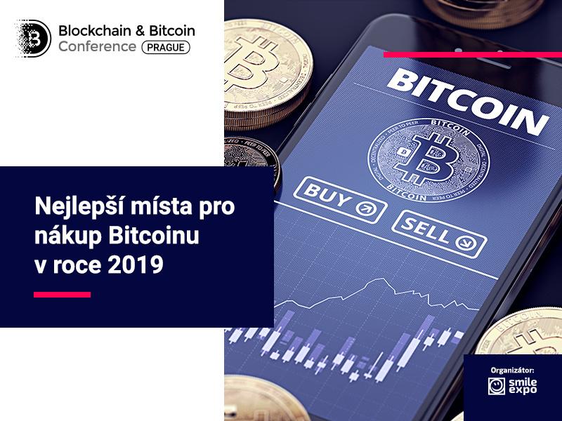 Nejlepší místa pro nákup Bitcoinu v roce 2019