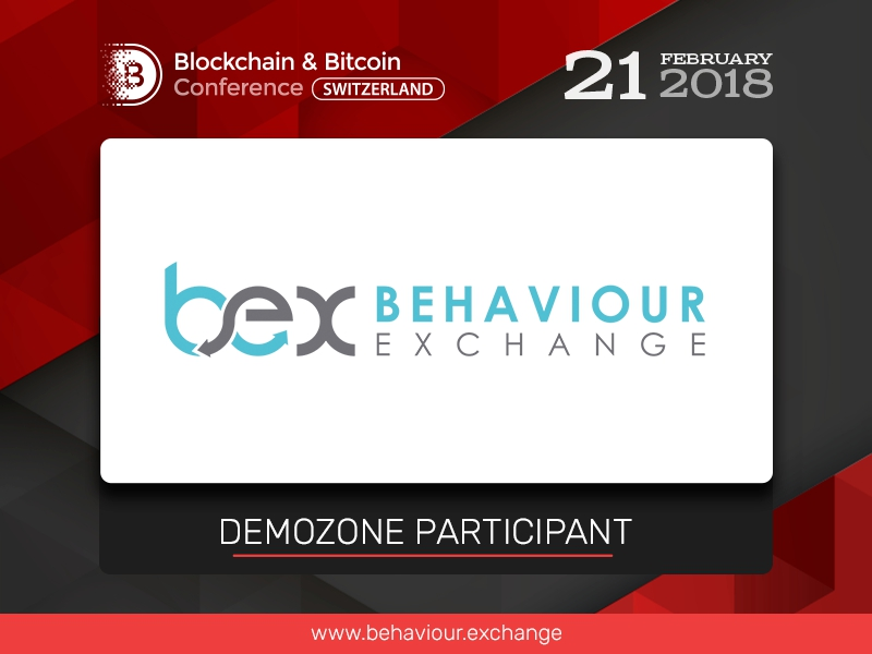 New exhibition area participant at Blockchain & Bitcoin Conference Switzerland: BehaviourExchange, content individualization service