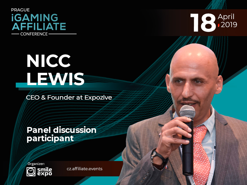 New Opportunities for Gaming Business: to Be Discussed by CEO & Founder at Expozive – Nicc Lewis