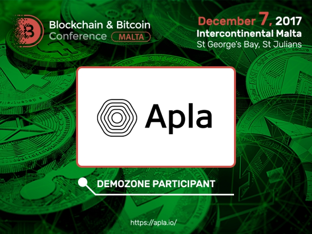 New technical realization of blockchain technology from Apla at Blockchain & Bitcoin Conference Malta