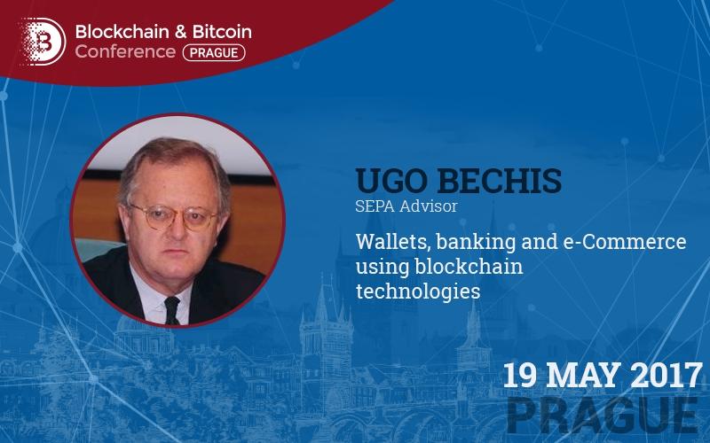 Nezávislý finanční expert Ugo Bechis poví o možnostech blockchainu v rámci platebního prostoru EU