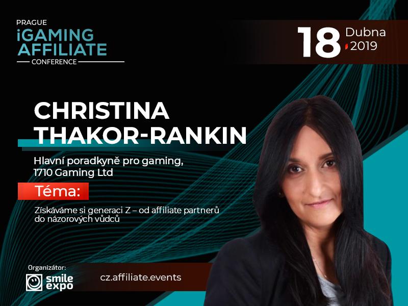 Od affiliate partnerů do názorových vůdců: prezentace poradkyně 1710 Gaming Ltd Christiny Thakor-Rankin