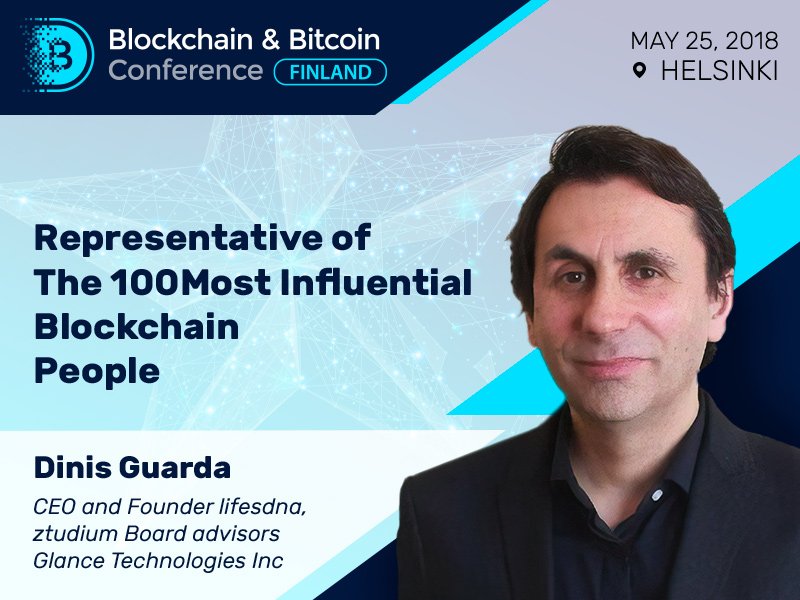 One of world's blockchain leaders to speak at Blockchain & Bitcoin Conference Finland