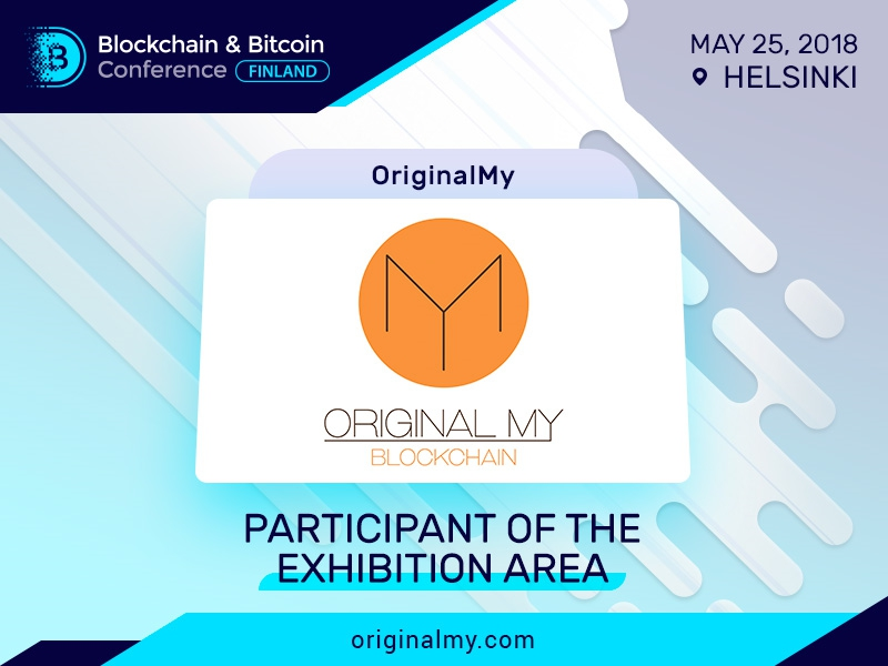 OriginalMy e-document verifier to be presented at Blockchain & Bitcoin Conference Finland