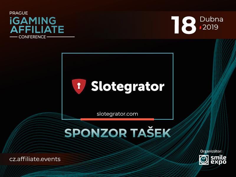 Představujeme sponzora firemních tašek Prague iGaming Affiliate Conference – Slotegrator