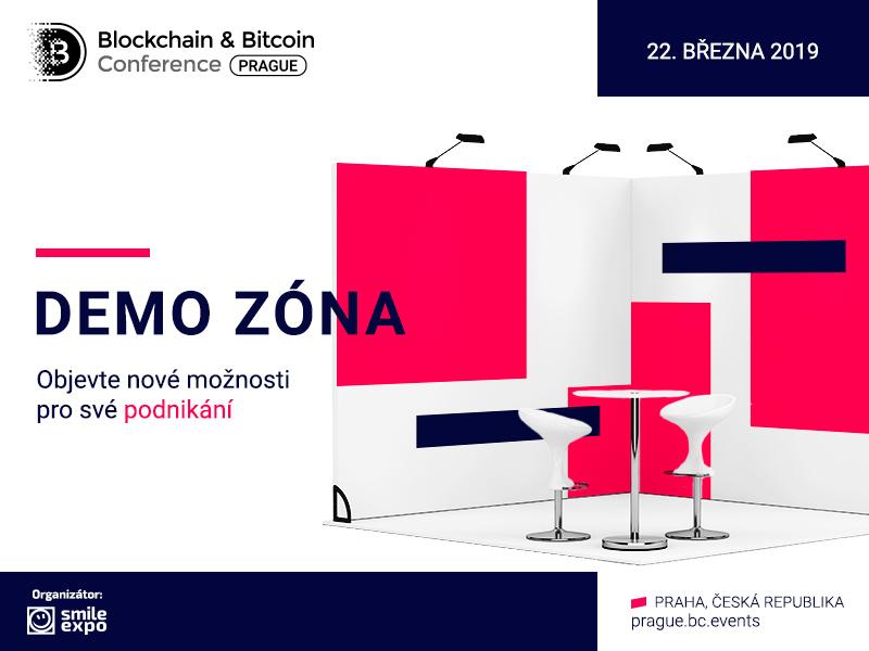 Pátý ročník Blockchain & Bitcoin Conference Prague zve k účasti v demonstrační zóně konference! Výhody pro vystavovatele