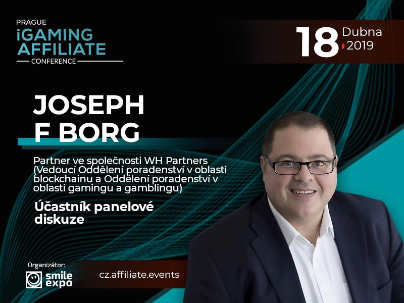 Partner ve WH Partners Dr. Joseph F Borg z Malty se zúčastní panelové diskuze o právní regulaci hazardu
