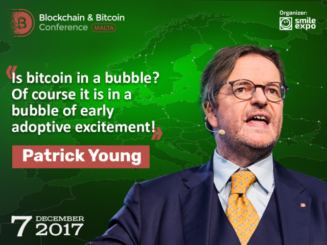Patrick Young: Blockchain and cryptocurrencies are warming up
