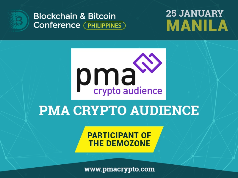 PMA Crypto Audience has become Advertising Partner of Blockchain & Bitcoin Conferences 2018