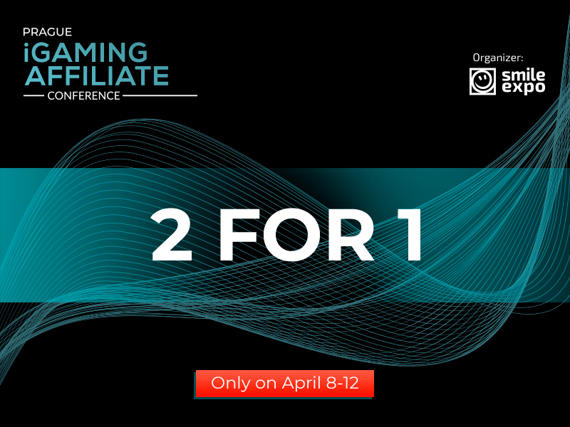 Prague iGaming Affiliate Conference Sale: Second Ticket for Free