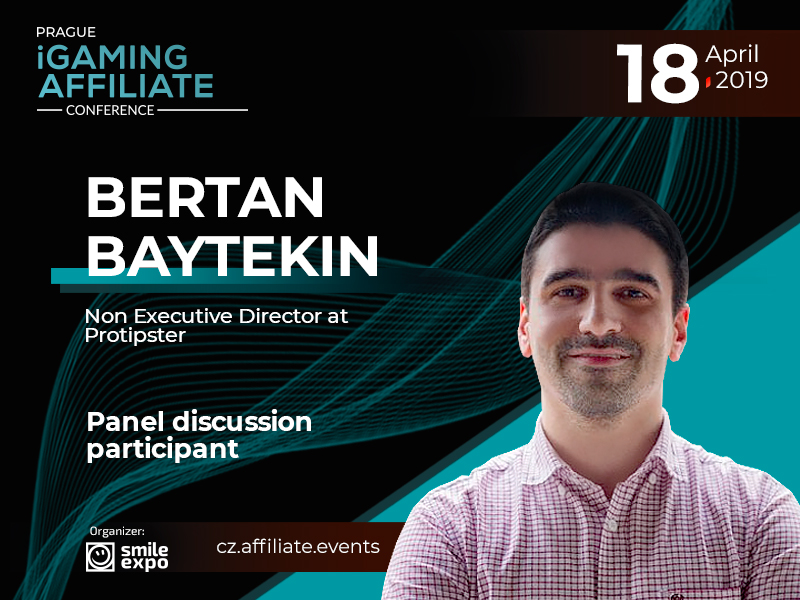 Protipster CEO Bertan Baytekin – speaker of Prague iGaming Affiliate Conference