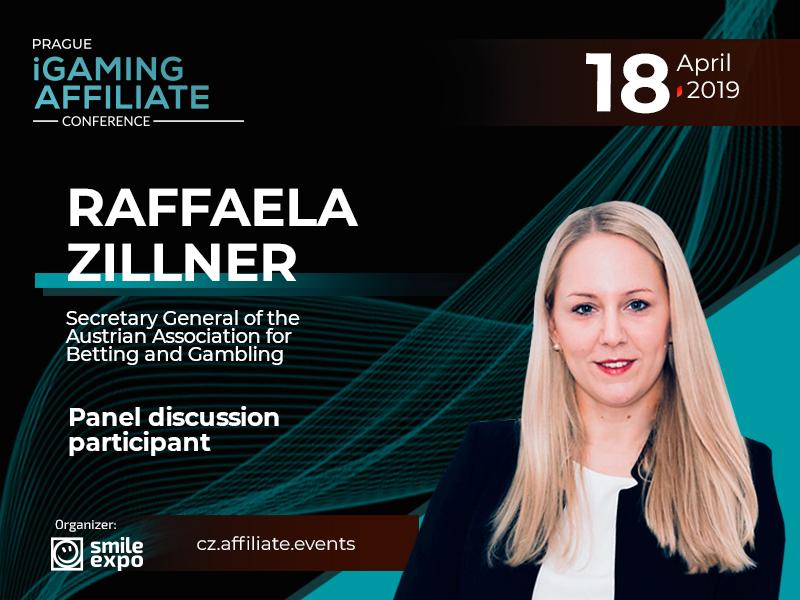 Raffaela Zillner, Secretary General of Austrian Betting Association, to participate in panel discussion