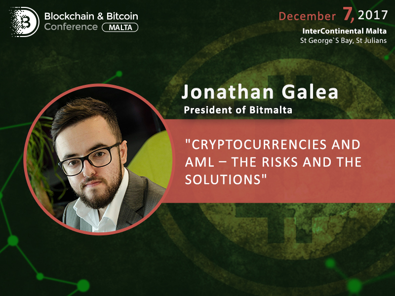 Redeem bitcoin's good name: Jonathan Galea to reveal how to eliminate cryptocurrency usage by criminals