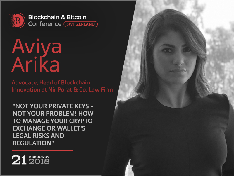 Regulation 101 – Crypto Exchanges: presentation by Aviya Arika, Head of Blockchain Innovation at Nir Porat & Co. Law Firm