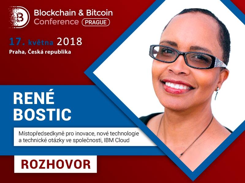 René Bostic, IBM: IBM Garage, zkušenosti společnosti s technologií blockchainu a nová řešení