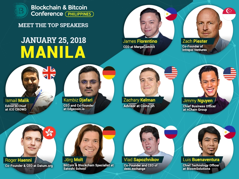 Representatives of large blockchain companies and fintech experts from 7 countries of the world have become speakers of B&BC Philippines