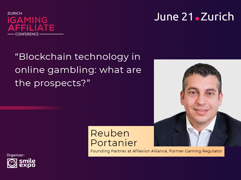 Reuben Portanier from Afilexion Alliance to Speak at Zurich iGaming Affiliate Conference