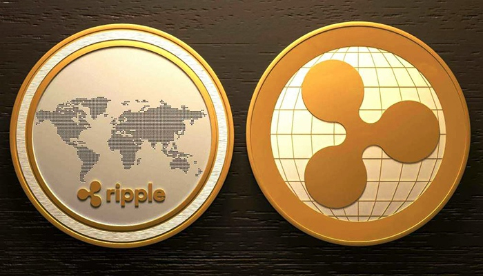 Ripple took third place in digital currency capitalization