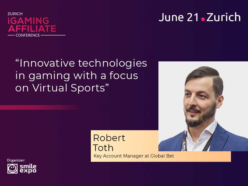 Robert Toth from Global Bet to Talk about Innovative Technologies in Gaming