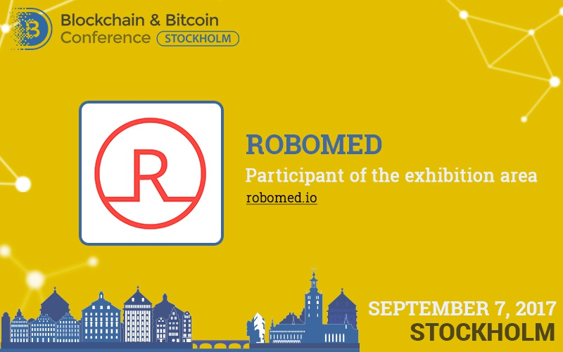 Robomed to present blockchain developments for healthcare in the exhibition area