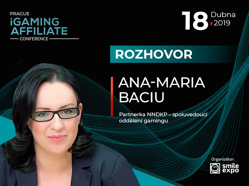 Rok 2019 přinese nové změny v hazardním průmyslu – Ana-Maria Baciu, partnerka NNDKP
