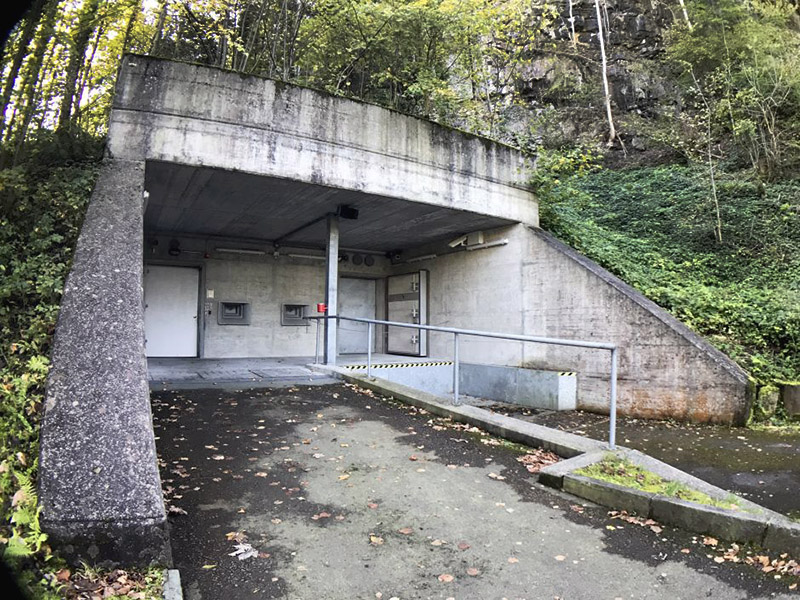 Secret bunker in Swiss mountains where millionaires hide their bitcoins from hackers