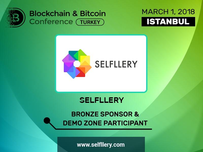 SELFLLERY isimli şirket, Blockchain & Bitcoin Konferansı Türkiye'nin bronz sponsoru