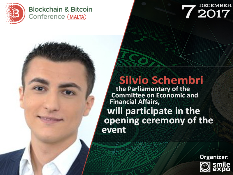 Silvio Schembri to hold opening speech at Blockchain & Bitcoin Conference Malta