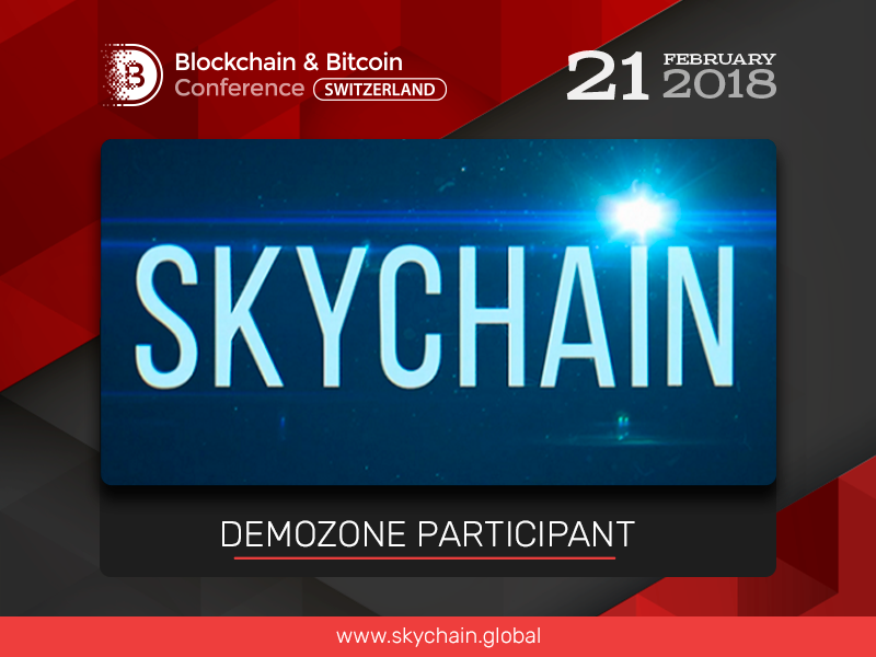 Skychain Global, blockchain ecosystem for training neural networks: Exhibition Area Participant at Blockchain & Bitcoin Conference Switzerland
