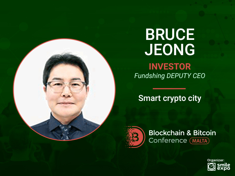 Smart City with Blockchain: from Bruce Jeong, Investor & Deputy CEO at Fundshing
