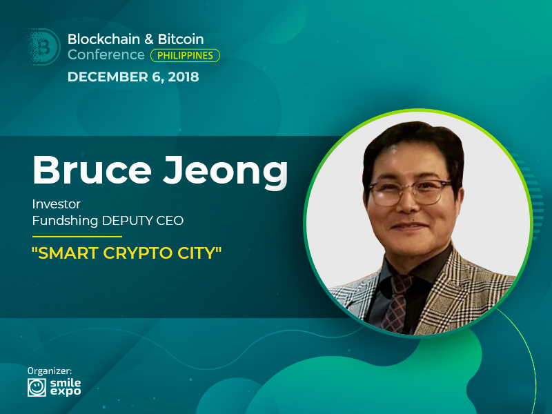 Smart City with DLT: Presentation by Bruce Jeong, Investor & Deputy CEO at Fundshing
