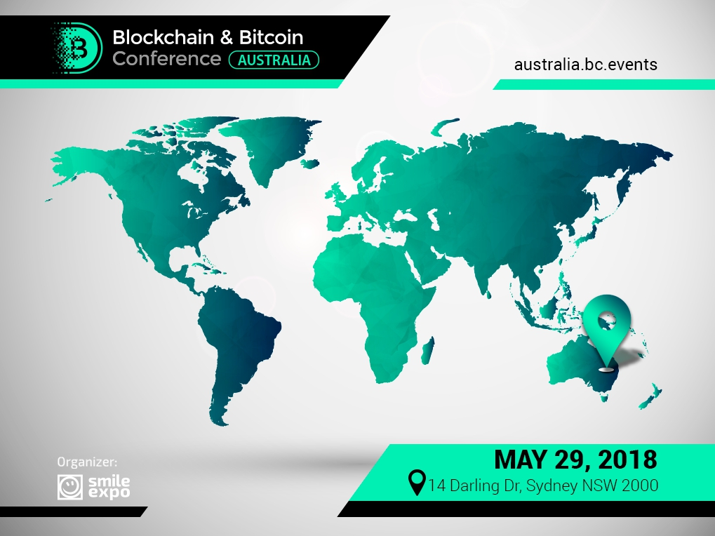 Smile-Expo, organizer of blockchain events in 20 countries, invites to a specialized conference in Australia