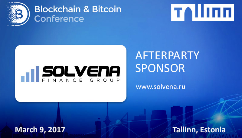 Solvena invites all participants of Blockchain & Bitcoin Conference to a party