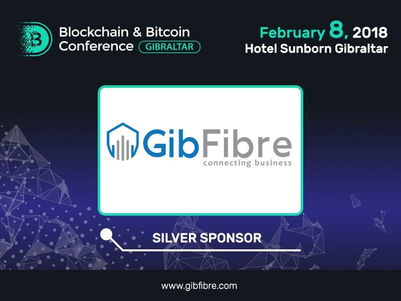 Sponsor of Blockchain & Bitcoin Conference Gibraltar: GibFibre
