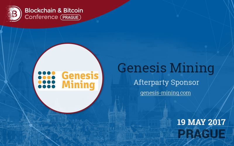 Sponzor afterparty Blockchain & Bitcoin Conference: Genesis Mining