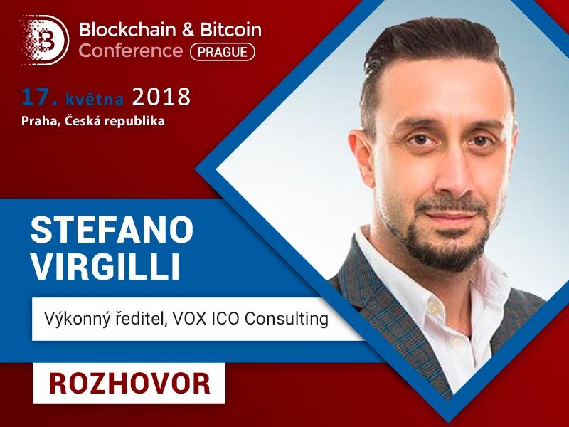 Stefano Virgilli, CEO ve VOX ICO Consulting: Méně těžařů = nižší konkurence = snazší získání odměny