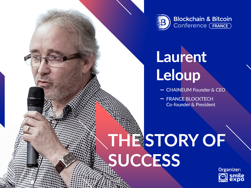 Success story of Laurent Leloup: 'I truly believe that blockchain is for everyone'