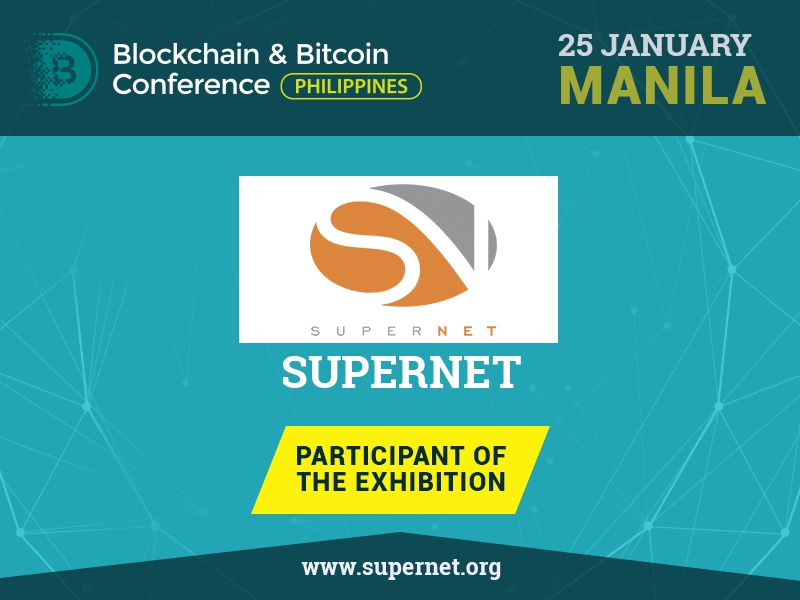 SuperNET platform: Exhibition Area Participant of Blockchain & Bitcoin Conference Philippines