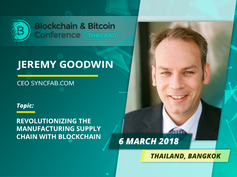Supply Blockchains and Tokenization. Meet Jeremy Goodwin, an international finance technology expert