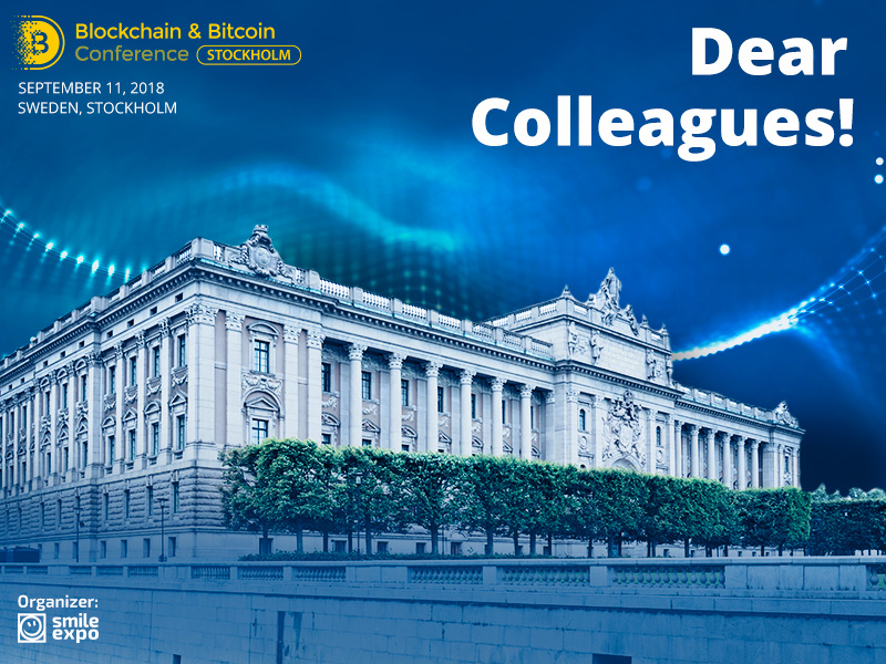 Sweden Will Host the Second Blockchain & Bitcoin Conference Stockholm